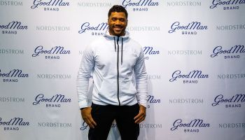 Russell Wilson Launches Good Man Brand At Nordstrom