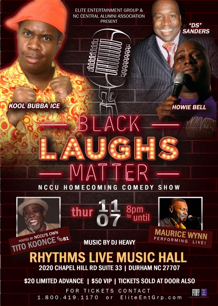 NCCU HC Black Laughs Matter