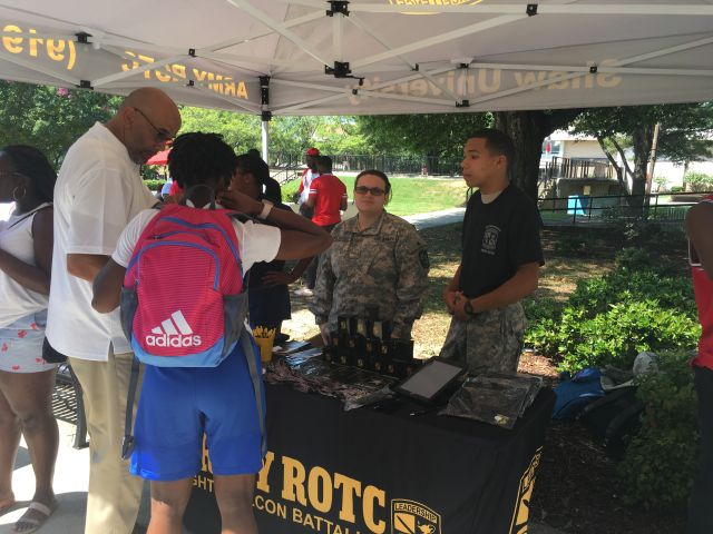 K 975 College Tour: Shaw University Brought To You By Go Army
