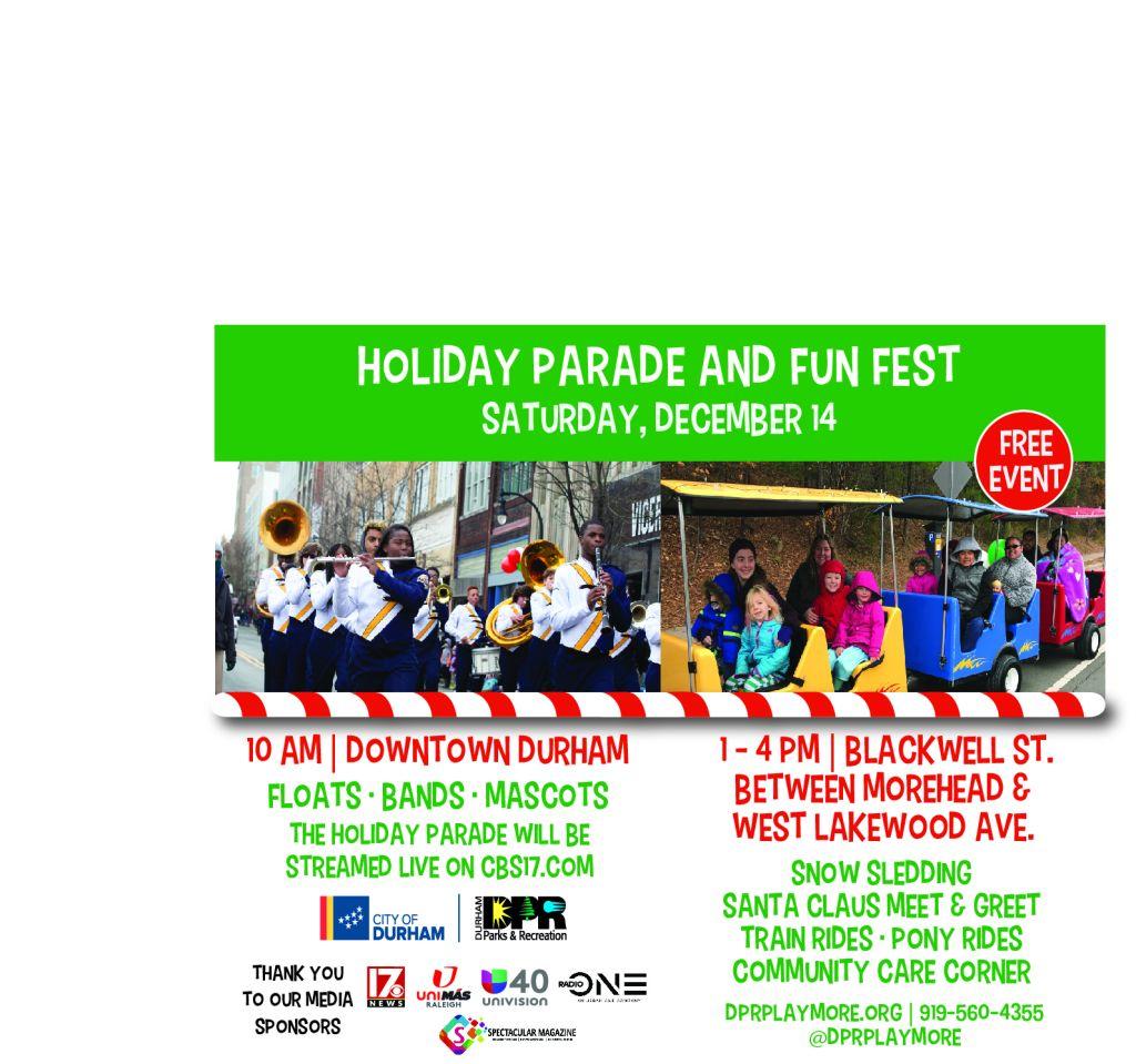City of Durham Holiday Parade