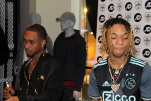 Rae Sremmurd signing session at JD Sports