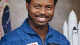 Portrait of Astronaut Ronald E. McNair in Uniform