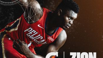 Zion Williamson x Gatorade